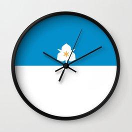 flag of salt lake city Wall Clock