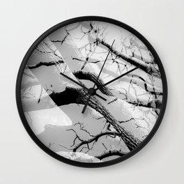 Tree Division in Mono Wall Clock