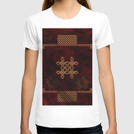 Celtic knote, vintage design T-shirt