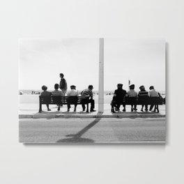 Experienced Chill-out Metal Print