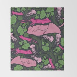 Underwater Pattern #6 Throw Blanket