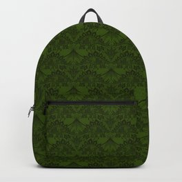 Stegosaurus Lace - Green Backpack