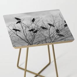 Murder Of Crows - Three Side Table