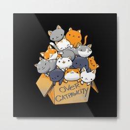 over-catpawcity-t-shirt Metal Print