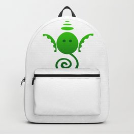 Unique Green Ganesh Backpack