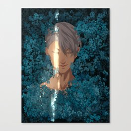 Surrounded by Flowers Canvas Print
