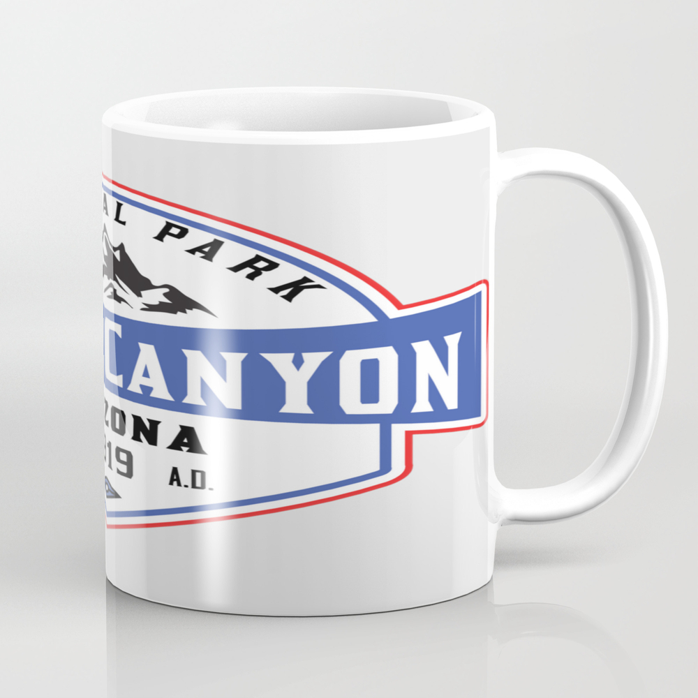 Grand Canyon National Park Arizona Mountains Hikin… Tea Cup by Hathithuye MUG7695122