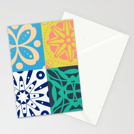 Middle Eastern Tiles Stationery Cards