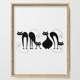Four Cats / Cuatro Gatos Serving Tray