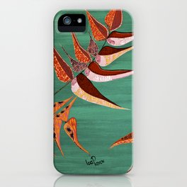 """Fiddleheads and Fronds"" by ICA PAVON iPhone Case"