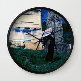 Lost Lady Wall Clock