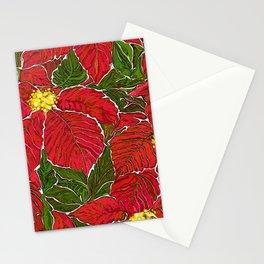 Christmas star Stationery Cards