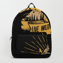 Live Wild And Free - Survival Bushcraft Backpack
