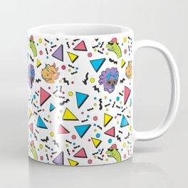 Nineties Dinosaur Jurassic Crew Pattern Coffee Mug