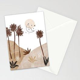 Modern desert landscape II Stationery Cards
