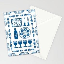 Symbols of Passover Folkart Stationery Cards