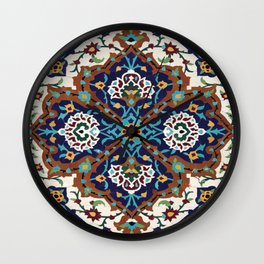 Persian Art Wall Clock