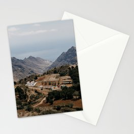 Spain mountain village Tenerife. Travel photo print, poster, landscape photography. Stationery Cards
