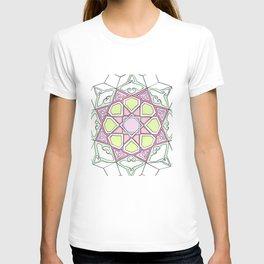 Pink Green Eight Fold T-shirt