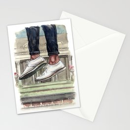 Luxury Sneaker Jumping, Noah Waxman Shoes Stationery Cards