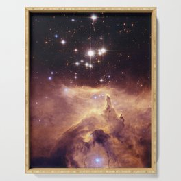 Hubble Space Telescope - Star Cluster Pismis-1 in Nebula NGC 6357 (2006) Serving Tray