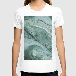 Marble green T-shirt