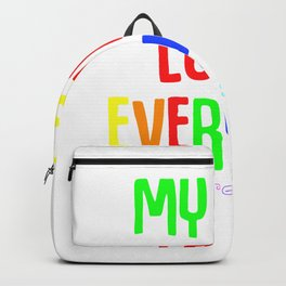 Christian Gay Believer Lgbtq Pride Backpack