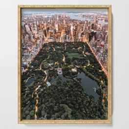 Central Park New York Serving Tray