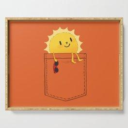 Pocketful of sunshine Serving Tray