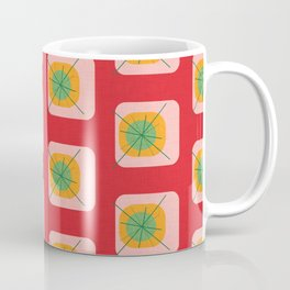 Flower Eggs Red Coffee Mug