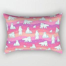 Polar Sunset Rectangular Pillow