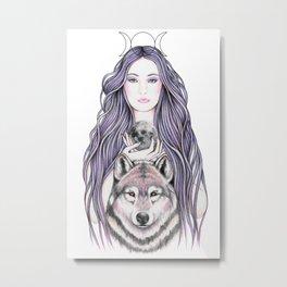 Mystic Moonlight Metal Print