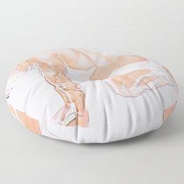 Le Sportif Floor Pillow