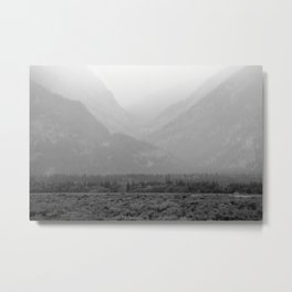 Pass through the Fog Metal Print