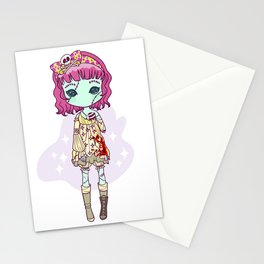 Dead eyes Stationery Cards