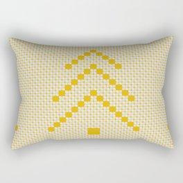 Nature, Gold, Pattern, Fresh, Variant, Design, Art, Leaves, Tree010 Rectangular Pillow