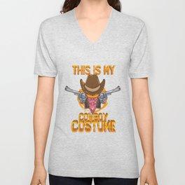 Cowboy Costume Unisex V-Neck