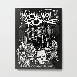 MyChemical Romance Metal Print