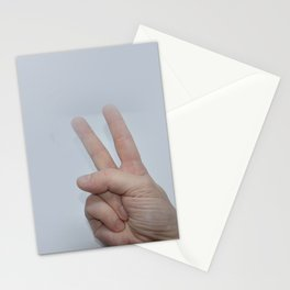Gymnastic exercises for the fingers to improve motor skills Stationery Cards