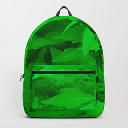 Leafy Green Plant Backpack