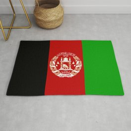 Flag of Afghanistan Rug