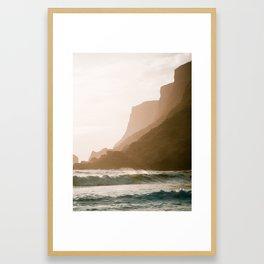 Vik, Iceland - Golden Hour Framed Art Print