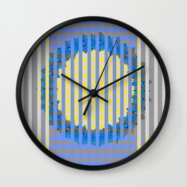 Summer Picnic Wall Clock
