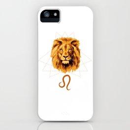 Leo Sign iPhone Case