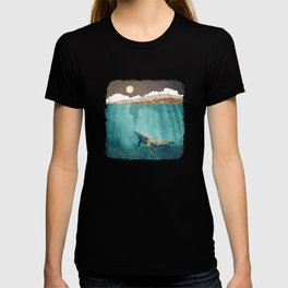 Light Beneath T-Shirt