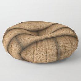 Realistic wood texture Floor Pillow