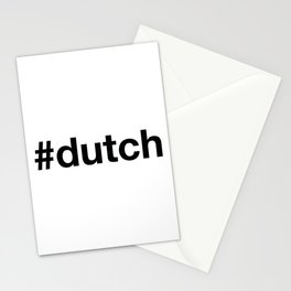 DUTCH Hashtag Stationery Cards