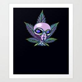 Abstract Alien Art Design Art Print