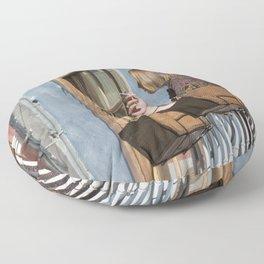 Las Palmas Balcony Floor Pillow