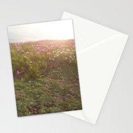 Atardecen las flores Stationery Cards